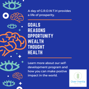Goals Reasons Opportunity Wealth Thought Health
